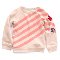 Uniform Stripe Basic Sweatshirt