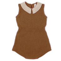 Fin & Vince Knit Romper, Honeycomb