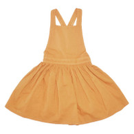 Apricot Pinafore Dress