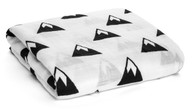 Organic Cotton Muslin Swaddle, Mountains