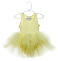 Tutu Dress, Yellow