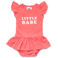 Little Babe Organic Cotton Onesie Dress