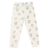Organic Cotton Brunch Leggings, Cream