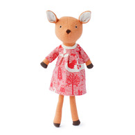 Phoebe Fawn in Winter Forest Dress