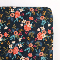 Crib Sheet, Birch Floral