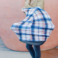 Covered Goods Multi Use Car Seat Cover, Plaid