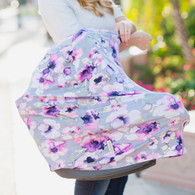 Covered Goods Multi Use Car Seat Cover, Painted Floral