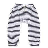 Stripe Harem Pant, Grey