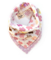 Reversible Bandana BIb, Purple Butterfly
