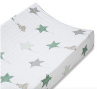 Muslin Changing Pad Cover, Up, Up & Away