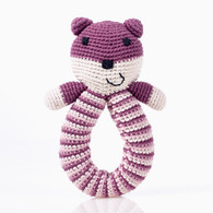 Bear Ring Rattle, Purple