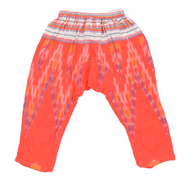 Riley Harem Pant, Poppy Ikat