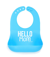 Wonder Bib, Hello Mom/Blue