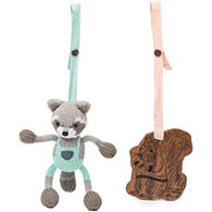 Stroller Set, 2 - Piece Raccoon