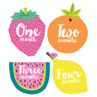 Little Tutti Frutti Monthly Stickers (12), Lucy Darling