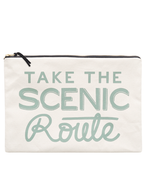 Take the Scenic Route Pouch