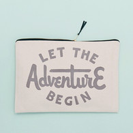 Let the Adventure Begin Pouch