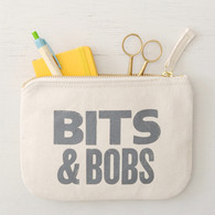 Bits & Bobs Little Canvas Pouch