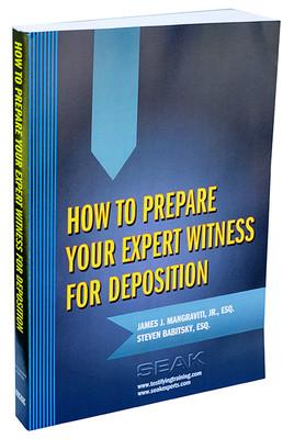 Expert Witness Deposition Preparation