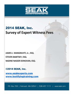 2014 Survey of Expert Witness Fees