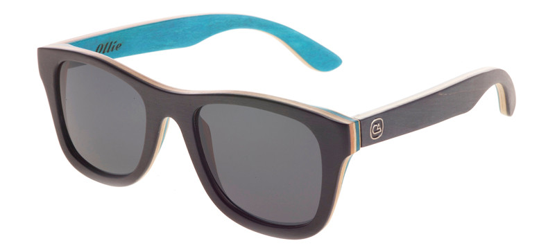 Shop The Ollie OG Skatboard Maple Polarized Sunglasses