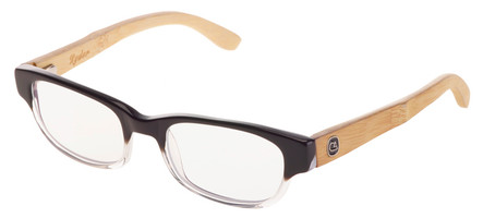 The speedway womens bamboo wood reading glasses