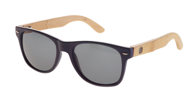 The Flyer Matte Black Sunglasses non-polarized lenses