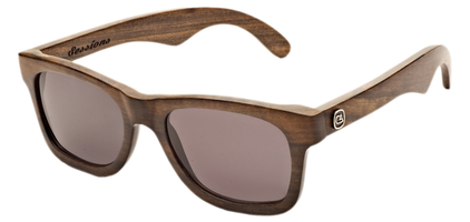 The Sessions ebony wood sunglasses