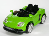 Racer X Green 12V Ride On Car With Remote & MP3