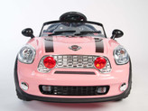 MiniMotos 6V Mini Car With Remote & MP3 In Pink