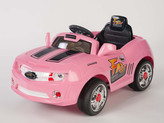 6V Camaro Style Ride On Car With Remote & MP3 In Pink