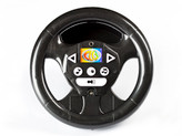 698R Black Steering Wheel