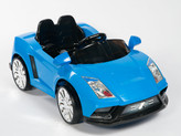 Racer X Blue 12V Ride On Car With Remote & MP3