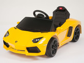 Lamborghini Yellow Aventador LP700-4 Ride On Car + Remote