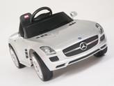Mercedes-Benz SLS AMG Ride On Car + Remote - Silver