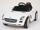 Mercedes-Benz SLS AMG Ride On Car + Remote - White