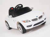 BMW Z4 Roadster 6V Ride On Car + Remote - White