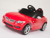 BMW Z4 Roadster 6V Ride On Car + Remote - Red