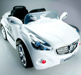 Autobahn AMG Style Ride On Car With Remote & MP3 In White