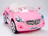 Autobahn AMG Style Ride On Car With Remote & MP3 In Pink