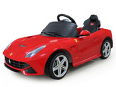 Ferrari F12 Berlinetta 12V Ride On Car + Remote - Red