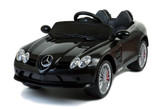Mercedes-Benz SLR McLaren 722S 12V Ride On Car + Remote - Black