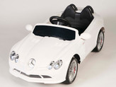 Mercedes-Benz SLR McLaren 722S 12V Ride On Car + Remote - White