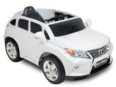 12V Lexus RX350 Ride On SUV With Remote & MP3 In White
