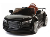 12V Audi R8 Style Ride On Car With Remote & MP3 - Black