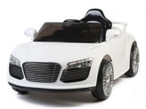 12V Audi R8 Style Ride On Car With Remote & MP3 - White