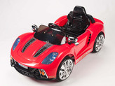 12V Spyder 918 Sports Car With Remote & MP3 In Red