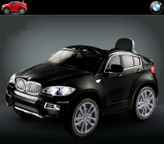 BMW X6 12V Ride On Kids Battery Powered Wheels Car + RC Black