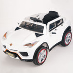 Bambini Uruz 12V Ride On SUV With Remote & MP3 - White