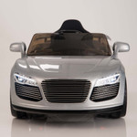 12V Audi R8 Style Ride On Car With Remote & MP3 - Silver
